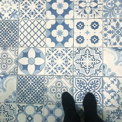 Continuing the floor tile envy…..