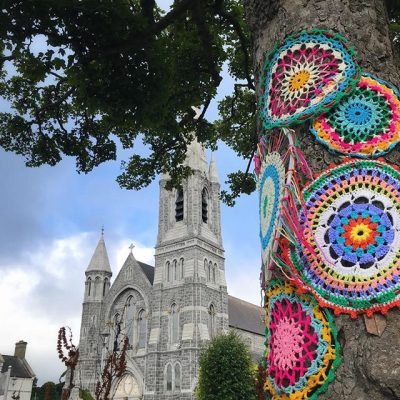 Colourful Castlewellan….. loved all the crazy crochet in Castlewellan yesterday!