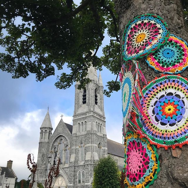 Colourful Castlewellan..... loved all the crazy crochet in Castlewellan yesterday!