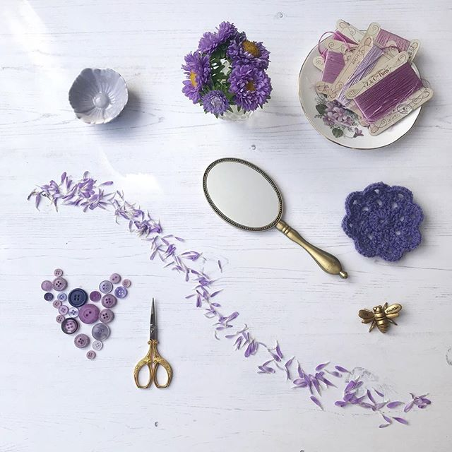 Purple bits and pieces
