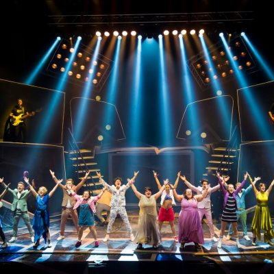 Opening night of The Band musical, Grand Opera House, Belfast