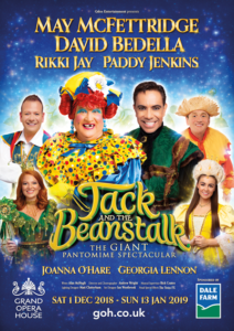 jack and the beanstalk GOH Belfast