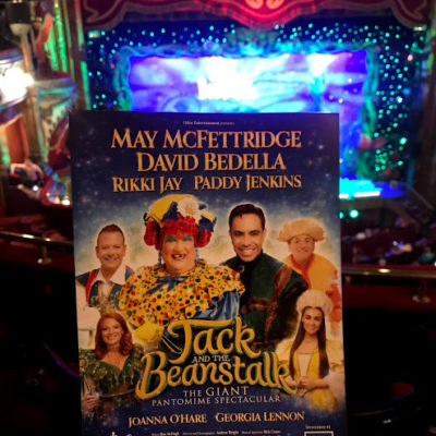 Panto at The Grand Opera House, Belfast – Jack and the Beanstalk…. a review